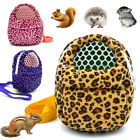 Portable Small Pet Carrier Hamster Chinchilla Travel Warm Bag Guinea Pig Bed USA