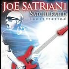 FREE US SHIP. on ANY 3+ CDs! NEW CD Joe Satriani: Satchurated: Live In Montreal