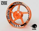 - RIM STICKER KIT - Fits KTM RC8R RC8 1190 Wheel Stripes Decals Tape