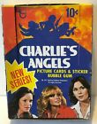1977 CHARLIE'S ANGELS TRADING CARDS – 32 UP-OPENED PACKS IN ORIGINAL 1977 BOX