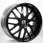 4 20 Staggered AC Forged Wheels Rims 818 BK 3 pcs B1