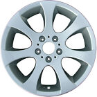 Chrome Plated 7 Flared Spoke 18X8 Factory wheel 2007 13 BMW 3 Series Convertible