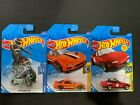 Hot Wheels Honda Monkey Z50, Mazda MX5 and RX7 1/64