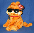 TY GARFIELD the CAT - COOL CAT BEANIE BABY - MINT with MINT TAGS