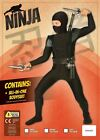 Ninja Costume Warrior Fancy Dress Outfit Book Week Story Dressup Age 9 12 New