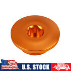 Ignition Cover Plug Engine Cap Orange Aluminum For KTM FREERIDE 250F 2018-2019