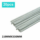 1020pcs Durafix Aluminium Welding Rod Brazing Soldering Low Temperature 1.62mm