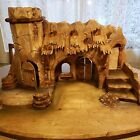 Vintage Anri Stable for 5 or 6 Nativity or Stage for Immagination