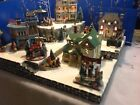 christmas Village Display Platform For Dept56, Lemax , SNS. Handmade New