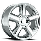 4 22 Velocity Wheels VW278 Chrome Rims B3
