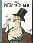 New Yorker Magazine - February 21, 1983 - Cover by Rea Irvin