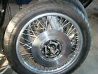 KAWASAKI  Z1 900 OEM  FRONT WHEEL WITH ROTOR tire NO axle DONT KNOW DATE CODE