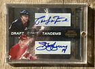 2010-11 Playoff Contenders Draft Tandems Dual Auto Pat Lafontaine Steve Yzerman