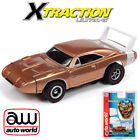 Auto World Xtraction R27 1969 Dodge Daytona Gold HO Slot Car