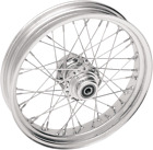 Drag Specialties Laced Front Wheel 21inX2.15in 40 Spoke Single Disc Harley FXSTS