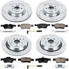 K6707 Powerstop 4 Wheel Set Brake Disc and Pad Kits Front  Rear New for G Class