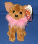 TY DIVALECTABLE the DOG  BEANIE BABY - MINT with MINT TAGS