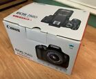 Canon EOS 750D Camera Black Body Only