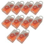 20pc Hearing Protection 33db Noise Reduction Ear Plugs Hunting Shooting Sleeping