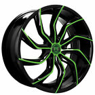 4 20 Lexani Wheels Matisse Custom Color Rims B9