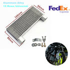 Aluminum Alloy Sliver Scooter Engine Oil Cooler 15 Rows Modified With Fix Tools