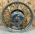 Honda xl250 xl 250 Rear Rim Wheel Assembly