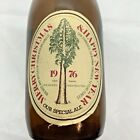 Rare 1976 Anchor Steam Beer Bottle Holiday Brew Happy New year Merry Christmas