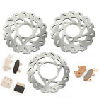 LTR 450 LT-R 450 Z Quadracer Limited Edition Front Rear Brake Discs Rotors Pads
