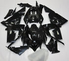 For 2004 05 KAWASAKI Ninja ZX10R ABS Injection Bodywork Fairings Kit Vivid Black