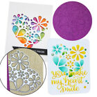 Floral Heart Layers Metal Cutting Dies Stencils Card Paper Scrapbook Embossing