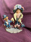 BOYDS BEARS Dollstone Collection AMY & EDMUND MOMMA'S CLOTHES, no box