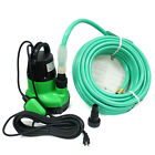 1 1 4HP Submersible Sump Pump  50ft Garden Hose for Dirty Water Pool Pond Drain