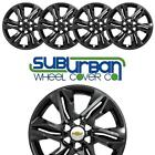 2019 2020 Chevrolet Blazer L 18 Gloss Black Wheel Skins IMP 438BLK NEW SET 4