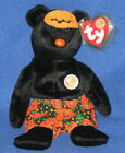 TY SCARES the BEAR BEANIE BABY - BBOM- MINT with NEAR PERFECT TAG