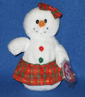 TY COOLSTINA the SNOWGIRL BEANIE BABY - MNT with MINT TAGS