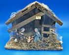 Vintage 5 Piece Woolworths Nativity Set in Creche NEVER OPENED Made in Italy