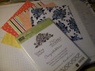 STAMPIN UP Floral Phrases stamps NEW w dsp