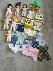 Vintage Lot of Cabbage Patch Kids Dolls Clothes Toys Birth Certificate