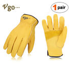 Vgo 1pair3pairs Palm Patched Cow Leather Work Glovesdriver Glovesca9590