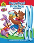 School Zone Cut Paste Skills Workbook Ages 3 to 5 Preschool to