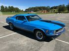 1970 Ford Mustang 1970 Ford Mustang Mach 1 Grabber Blue 351 Cleveland