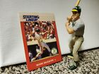 1988 Kenner Starting Lineup Figure Mark McGwire With Baseball Card New