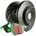 S10KR1318 EBC 2 Wheel Set Brake Disc and Pad Kits Rear New for Allroad Quattro