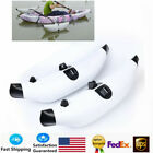 2pcs PVC Inflatable Outrigger Kayak Canoe Fishing Boat Stabilizer System White