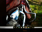 STAINLESS STEEL CUSTOM CRASH BAR ENGINE GUARD + PEGS HONDA VTX 1800 NEO RETRO
