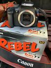Canon EOS Rebel T3 1100D 122MP Digital SLR Camera Black Body Only