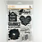 Simon Says Stamp Home Sweet Home Clear Stamp Die Set Bird Wreath Phrases Sayings