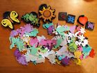 Foam Paint Stamps And Dinosaur Foam Stickers kids crafts
