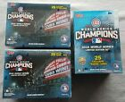 3x Topps World Series Chicago Cubs Champ Box Set - Box 2016 Limited Edition