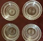 Vintage Anchor Hocking Wexford Scolloped edge Berry Bowls Set of 4